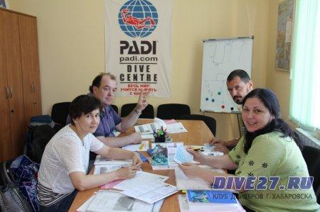 Отчет за 2013 год от Владислава Звонкова, инструктора PADI, EFR, по проводимым в уходящем году занятиям.