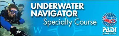 PADI Underwater Navigator (подводное ориентирование)