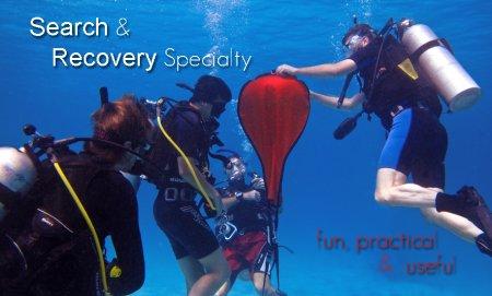 PADI Search and Recovery Diver (поиск и подъем затонувших объектов)