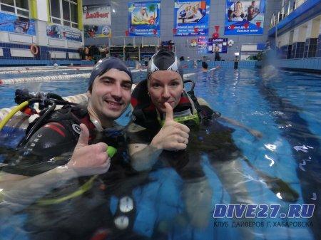 Свидание под водой Алексея и Виктории 20.02.17