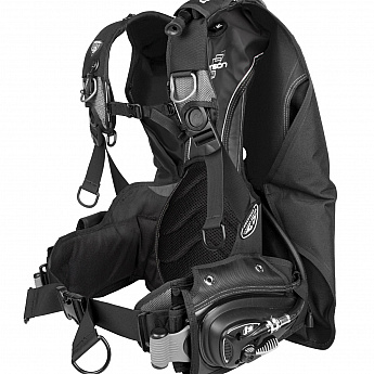 "BCD vest Aqualung ""DIMENSION BC"" - BACK MOUNTED + removable weight pockets, I3 ML Б/У"